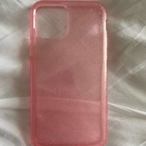 Pink sparkly Speck iPhone 11 Pro case